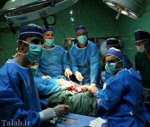 عمل جراحی دختری که فک نداشت + عکس