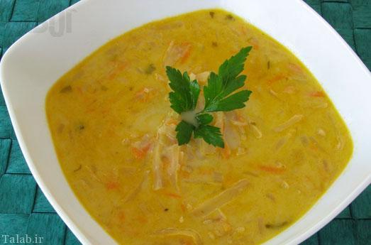 آموزش طرز تهیه سوپ کرفس و هویج