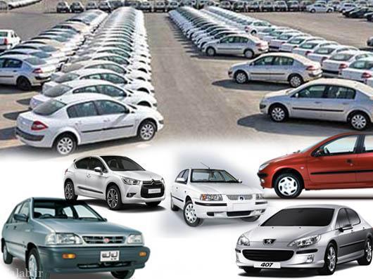 قیمت انواع خودروهای دوگانه سوز داخلی در بازار (جدول)