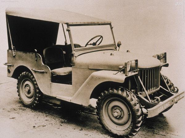 عکس کمیاب و دیدنی از اولین خودروی جیپ