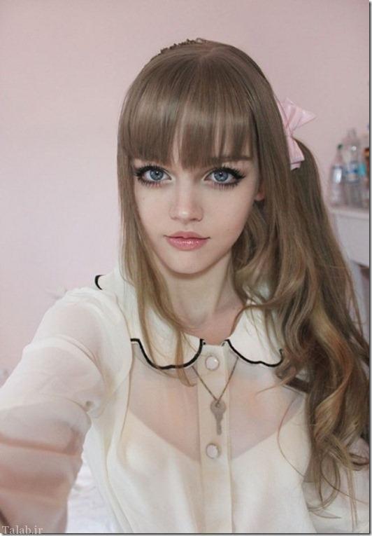 باربی 16 ساله که زیباترین دختر دنیا است + تصاویر