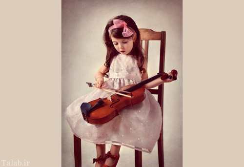 عکس های دیدنی از کودکان بامزه و خوشگل