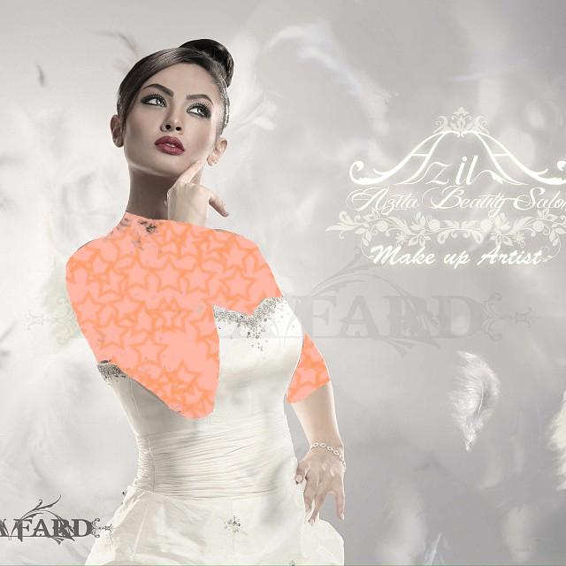 مدل های زیبا و جذاب شینیون و میکاپ عروس