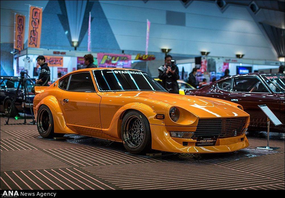 تصاویر دیدنی از نمایشگاه ماشین توکیو