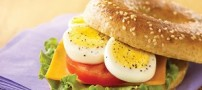 طرز تهیه ساندویچ تخم مرغ به سبک پیتزا