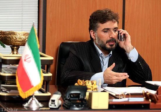 حضور جواد هاشمی در عزاداری بیت رهبری
