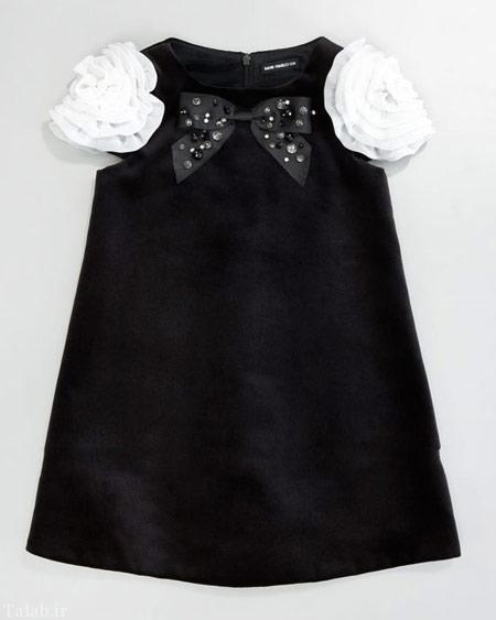 زیباترین نمونه های تن پوش مشکی کودکانه برای محرم