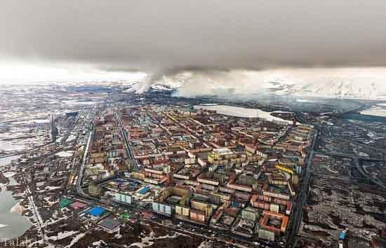 شهری بی روح و کسل کننده در روسیه (+عکس)