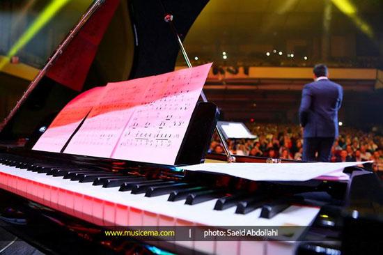 تصاویر دیدنی از کنسرت زیبای احسان خواجه امیری با حضور بزرگان
