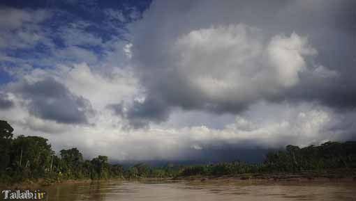 زندگی مردم آمریکای جنوبی در جنگل های آمازون + عکس
