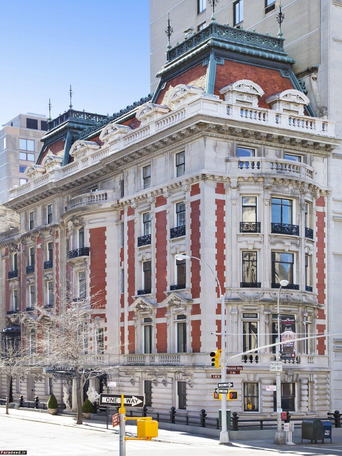 خانه بزرگ و مجلل دومین ثروتمند جهان