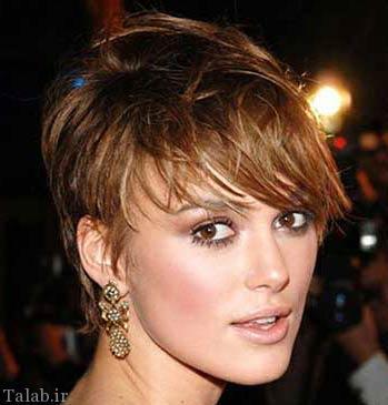 مدل مو شیک و زیبای زنانه به سبک مجلسی