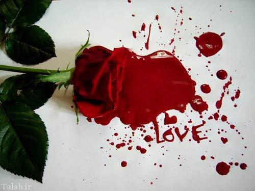 عکس نوشته های عاشقانه و احساسی جدید (10)