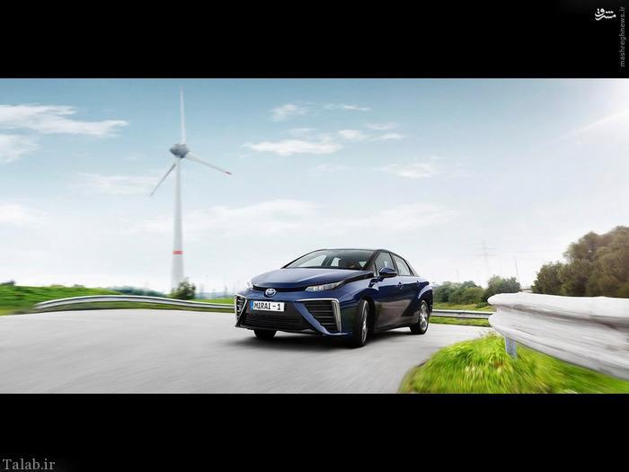 رونمایی از خودروی تویوتا ۲۰۱۵ با نام میاری