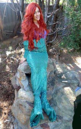 اعتیاد عجیب زنی به متفاوت لباس پوشیدن (عکس)
