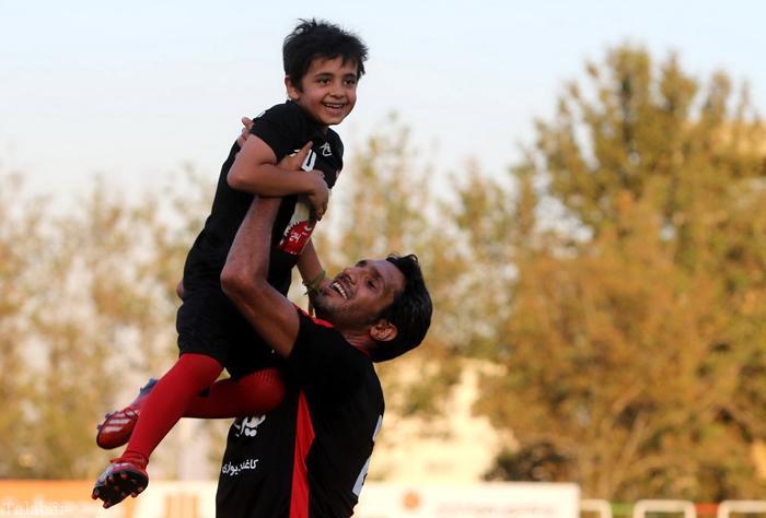 درخواست تلخ پسر هادی نوروزی از پدرش بعد از ال کلاسیکو