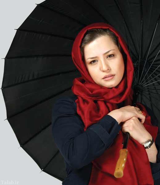 عکس بامزه مهراوه شریفی نیا در کودکی