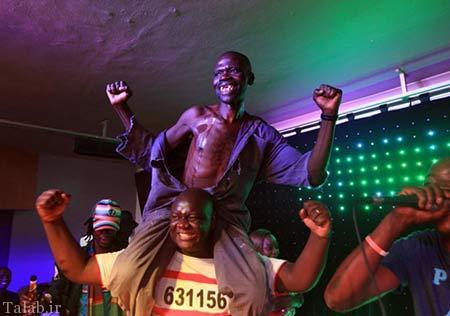 مسابقه عجیب زشت ترین مرد دنیا (عکس)