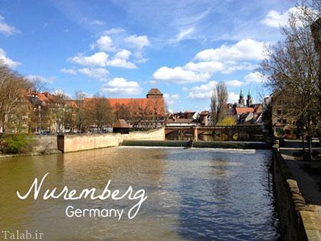 شهر زیبا و دیدنی نورنبرگ در آلمان + عکس