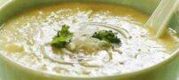 آموزش تهیه سوپ تره فرنگی و سیب زمینی