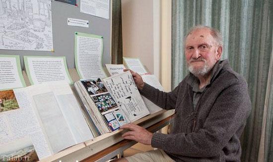 خاطرات بسیار جالب و خواندنی این پیرمرد (عکس)