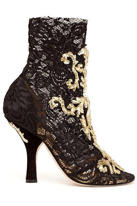 مجموعه زیبا کفش های برند D&G