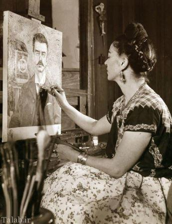 آشنایی با مشهورترین نقاش زن تاریخ + عکس