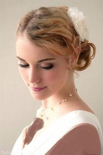 مدل مو زیبا و جذاب عروس