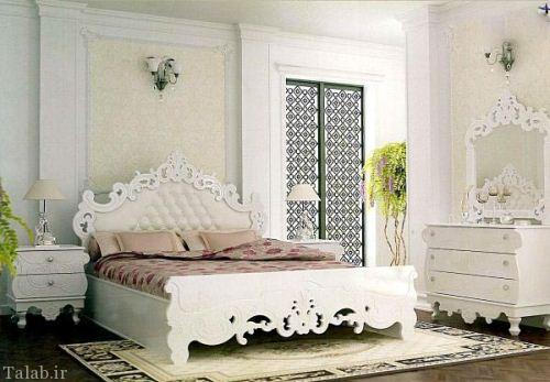 مدل جدید و زیبای سرویس خواب عروس