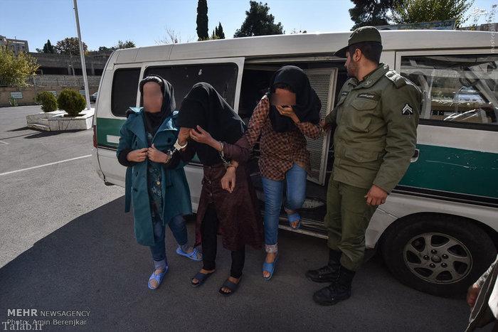 دستگیری پلیس های قلابی در شیراز (عکس)