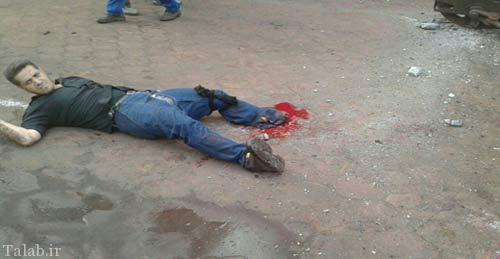 سقوط فجیع جرثقیل در اهواز (عکس)