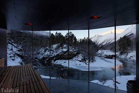 هتل زیبا و شگفت انگیز در نروژ + عکس