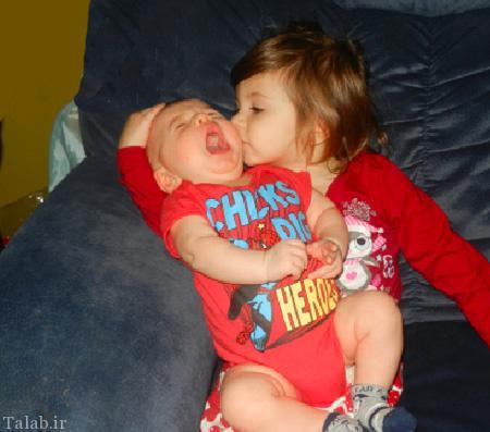 دیدنی ترین عکس های خنده دار کودکان