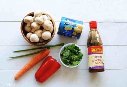 پیتزای سبزیجات آسیایی، یک پیتزای رژیمی