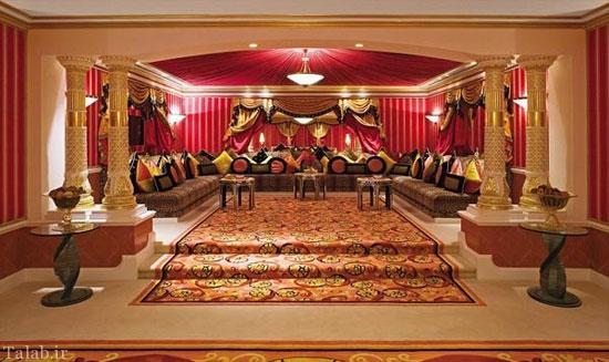 معرفی هتل 7 ستاره 70 رنگ + عکس