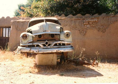 تصاویر دیدنی از ماشین دکتر مصدق