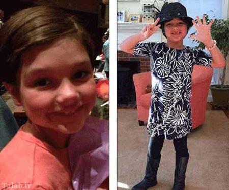 پسر 10 ساله به خاطر تمایلات زنانه اش تغییر جنسیت داد + عکس