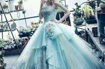 مدل لباس شیک و جذاب عروس 96