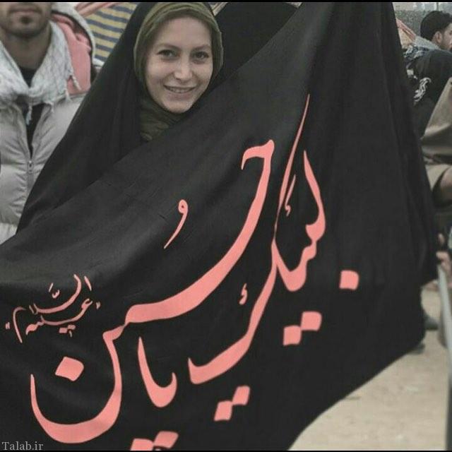 عکس متفاوت فریبا نادری در نجف