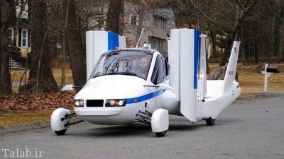 طراحی تاکسی پرنده برای فرار از ترافیک + عکس