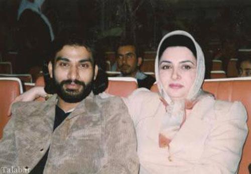 عکس کمیاب ناصر عبداللهی و همسرش