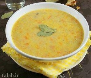 سوپ بلغور گندم، سوپ ساده و خوشمزه
