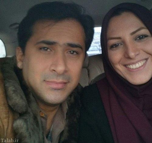 المیرا شریفی مقدم و همسرش (عکس)