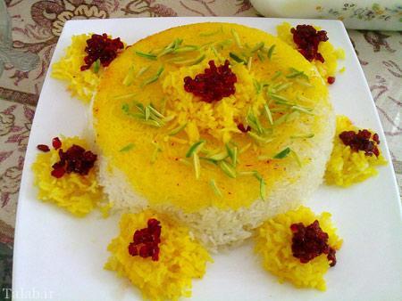 مدل تزیینات زیبا و خلاقانه برنج برای مجالس