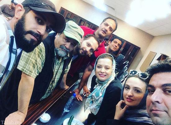 عکس های اشخاص مشهور ایرانی در کنار پدر و مادرهایشان
