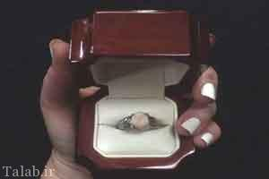 حلقه ازدواج جالب چندش آور (عکس)