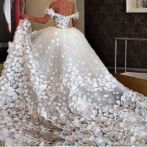 مدل لباس شیک عروس 95