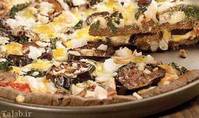 پیتزای سیاه با خاصیت ضد بیماری