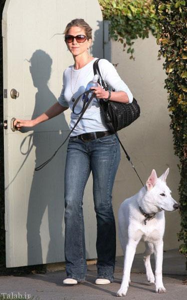 هدیه باورنکردنی ستاره زن به سگش (عکس)