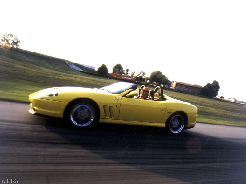عکس های خودروی فراری 550 فارینا